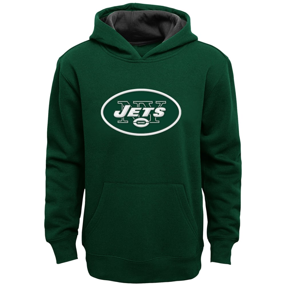 NEW YORK JETS Kids' Primary Pullover Hoodie - GREEN