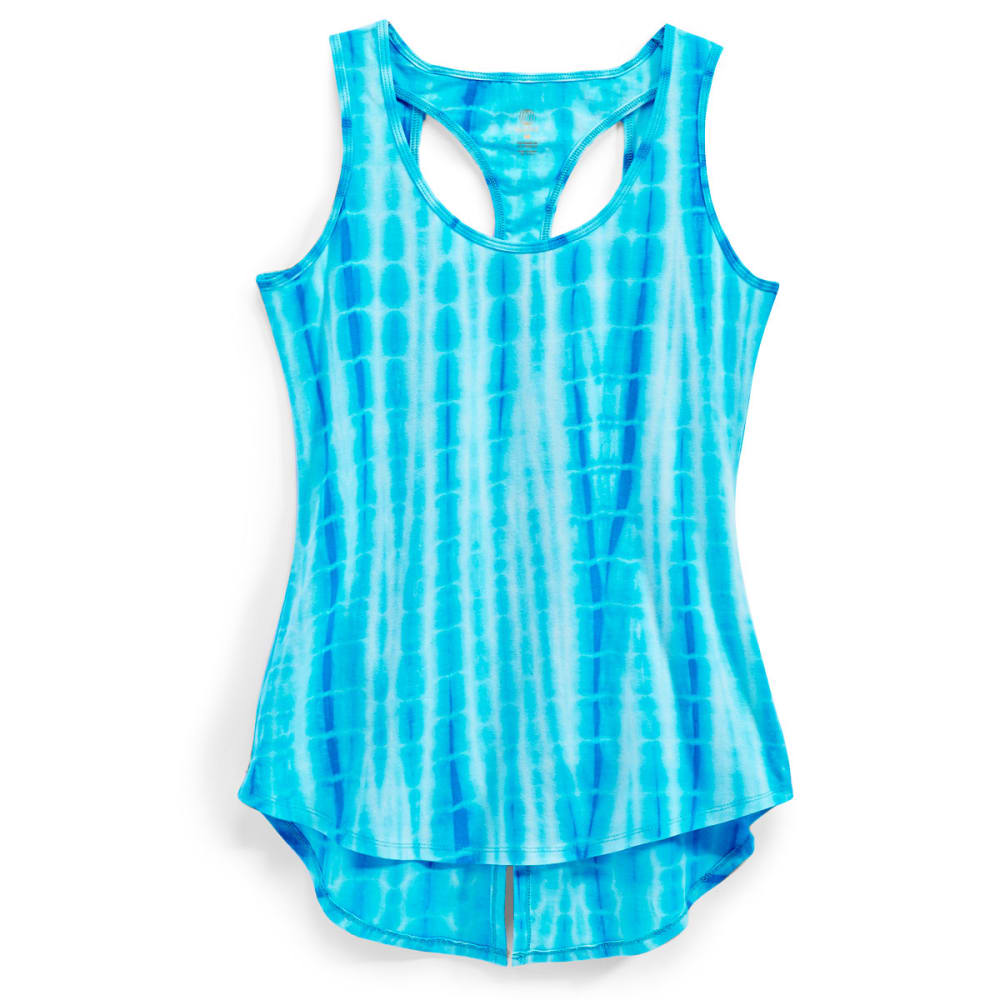 MARIKA Women's Lola Tie Dye Tank - VIVID BLUE-4BX