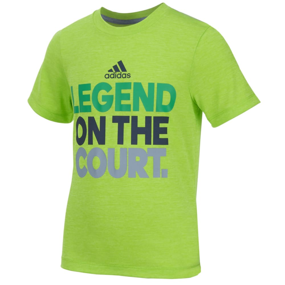 Adidas Boys' Legend Tee - Green, 4