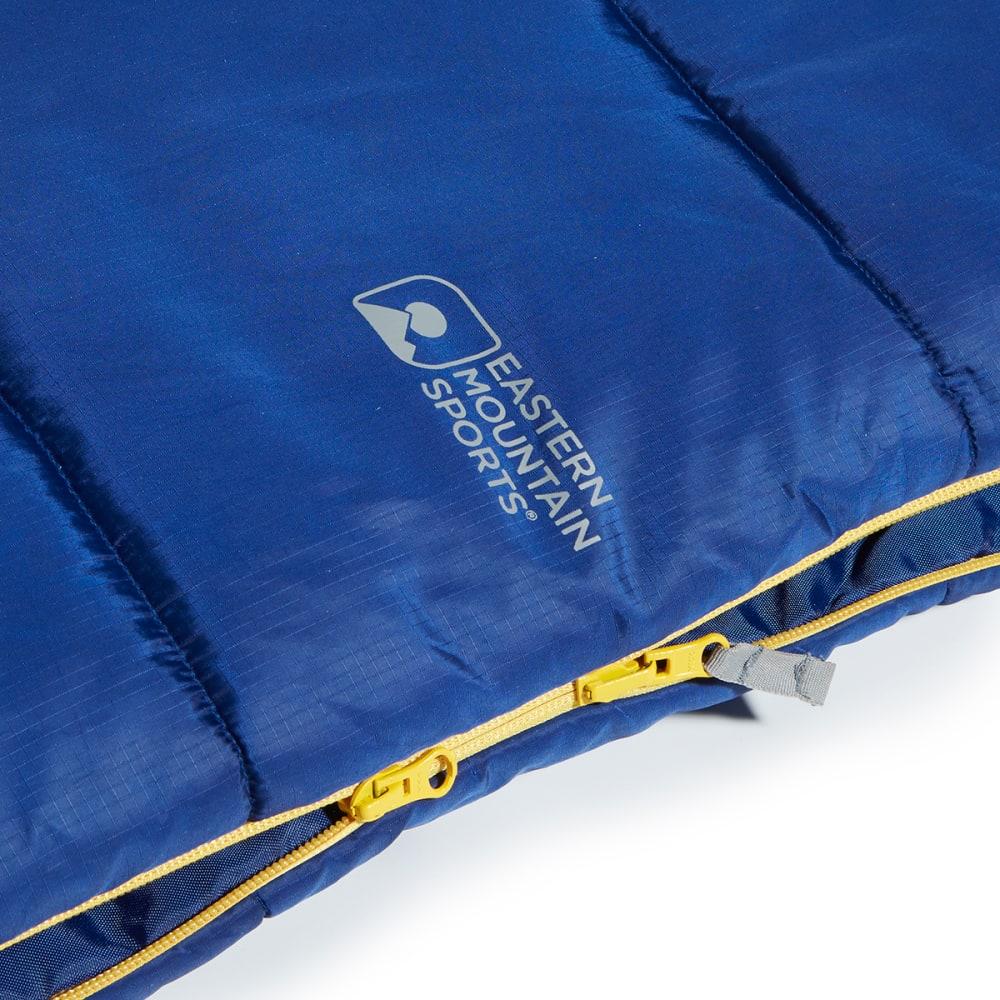 EMS Bantam 30 Degree Rectangular Sleeping Bag, Short - BLUE DEPTHS