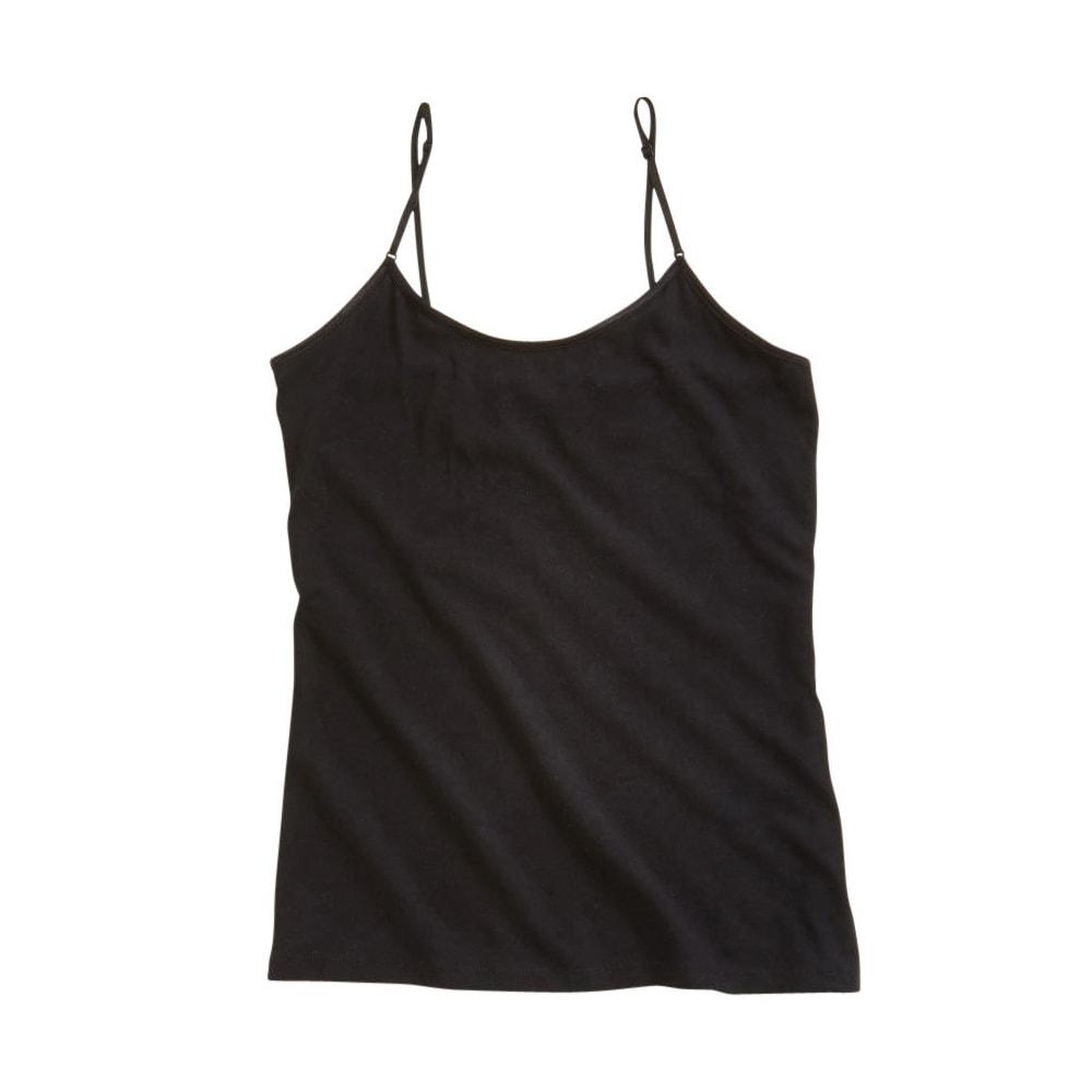 FEMME Women's Thin Strap Tank - BLACK
