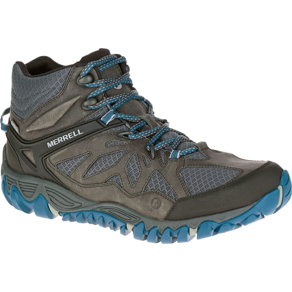 MERRELL Men's All Out Blaze Ventilator Mid Waterproof Hiking Boots, Grey Multi - GREY/MULTI
