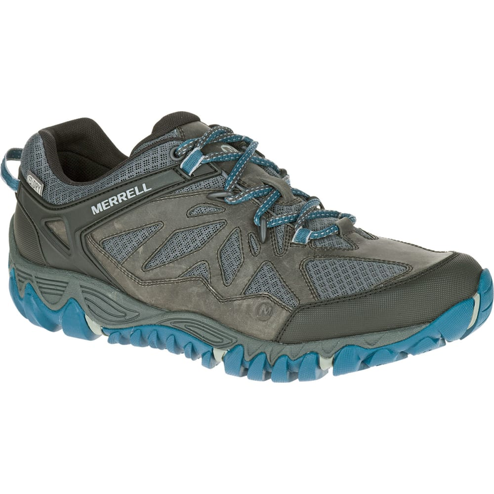 MERRELL Men's All Out Blaze Ventilator Waterproof Hiking Shoes, Grey Multi - GREY/MULTI