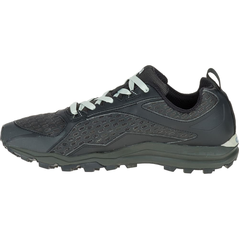 MERRELL Men's All Out Crush Trail Running Shoes, Black - BLACK