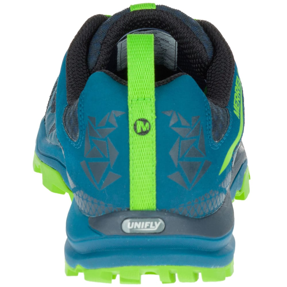 MERRELL Men's All Out Crush Light Trail Running Shoes, Bright Green - BRIGHT GREEN