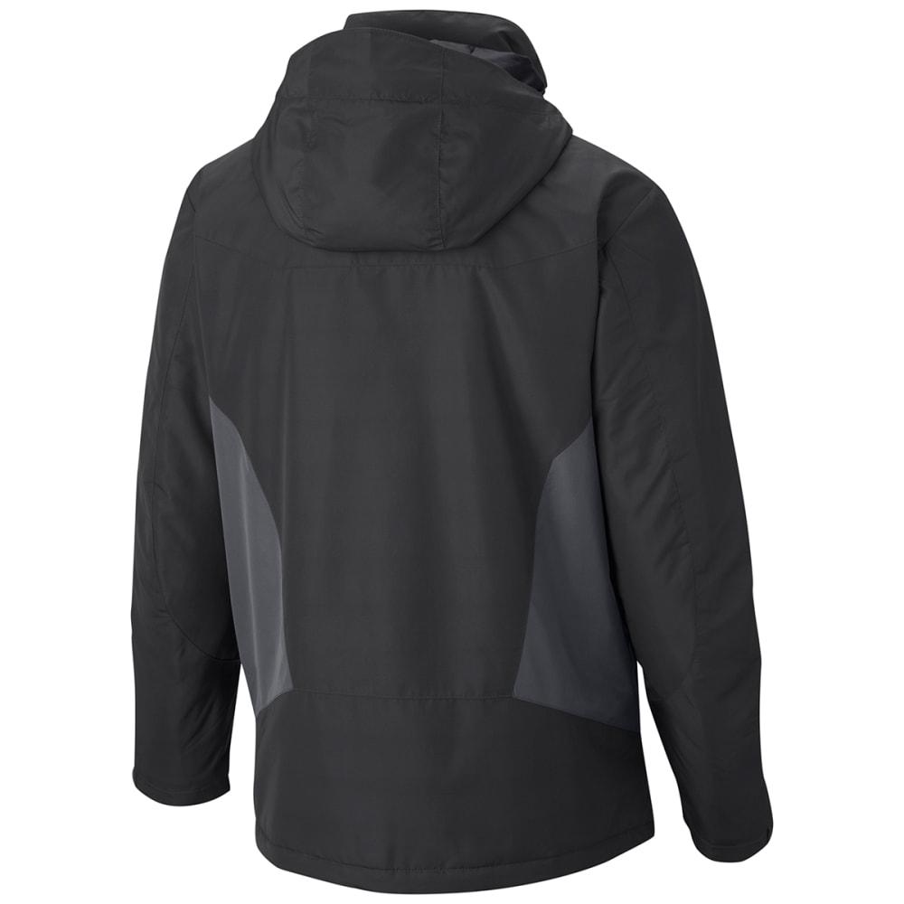 COLUMBIA Men's Antimony IV Jacket - 011-BLK/GRAPHITE