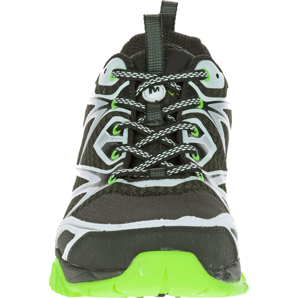 MERRELL Men's Capra Bolt Trail Shoes, Black/Silver - BLACK/SILVER