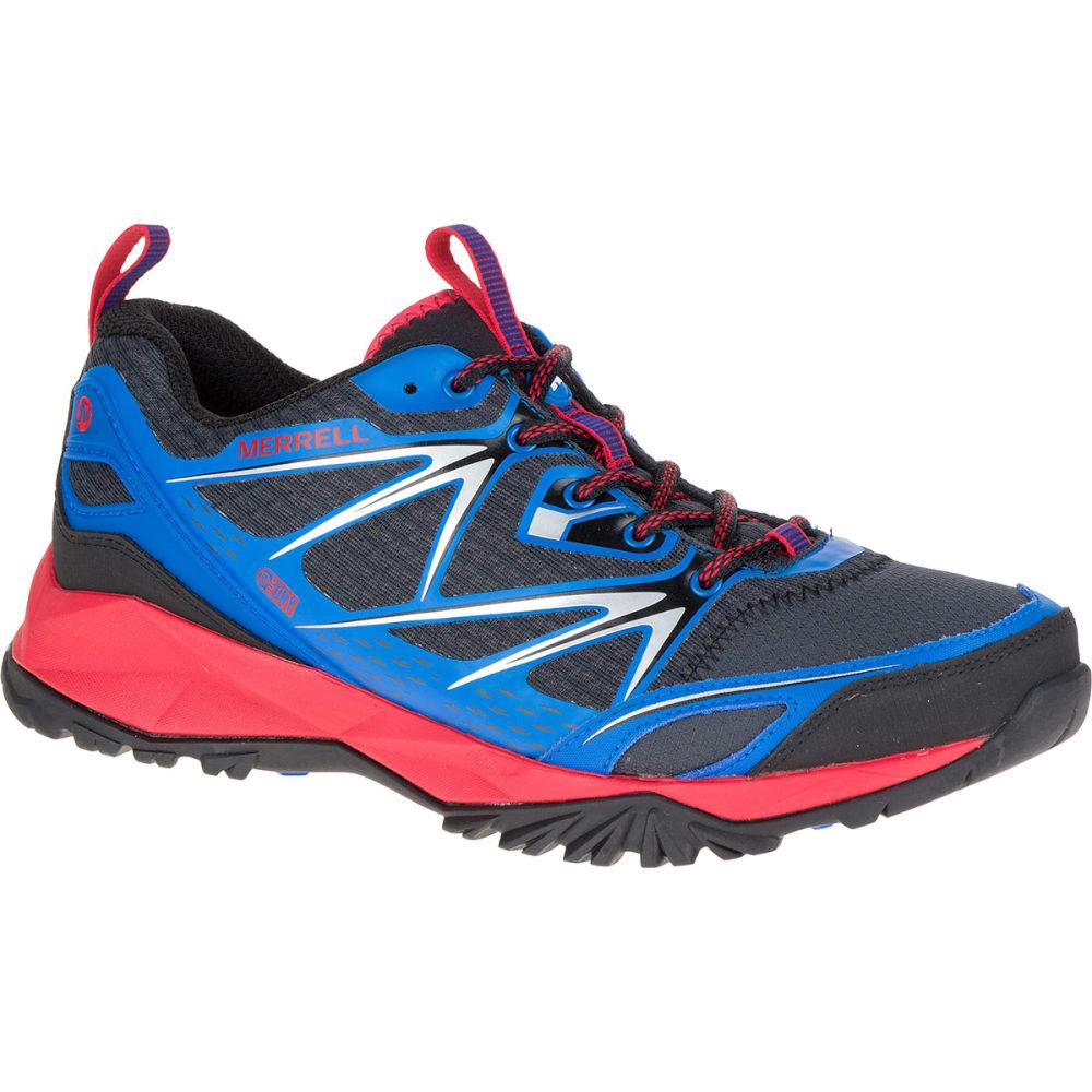 MERRELL Men's Capra Bolt Waterproof Trail Shoes, Blue - BLUE