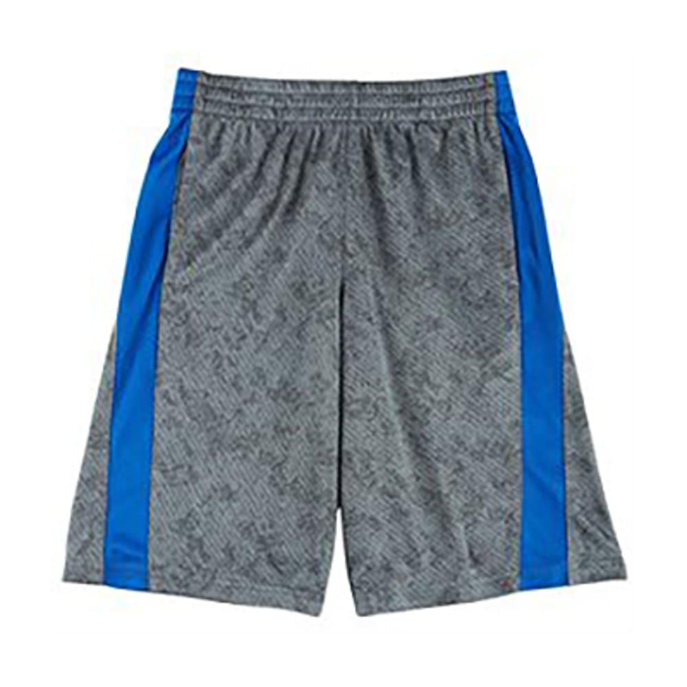 CHAMPION Boys' Box Out Shorts - SLATE/BLUE-SLT
