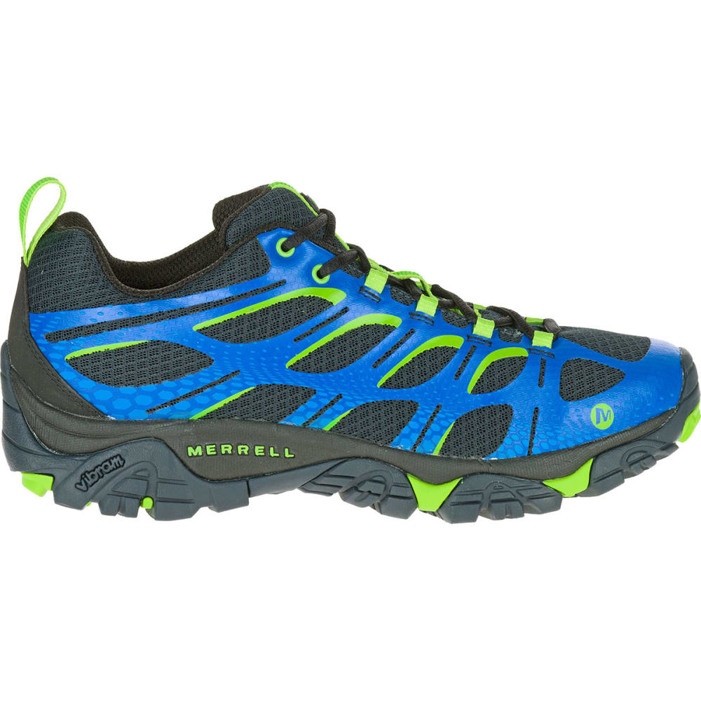 MERRELL Men's Moab Edge Shoes, Navy - NAVY