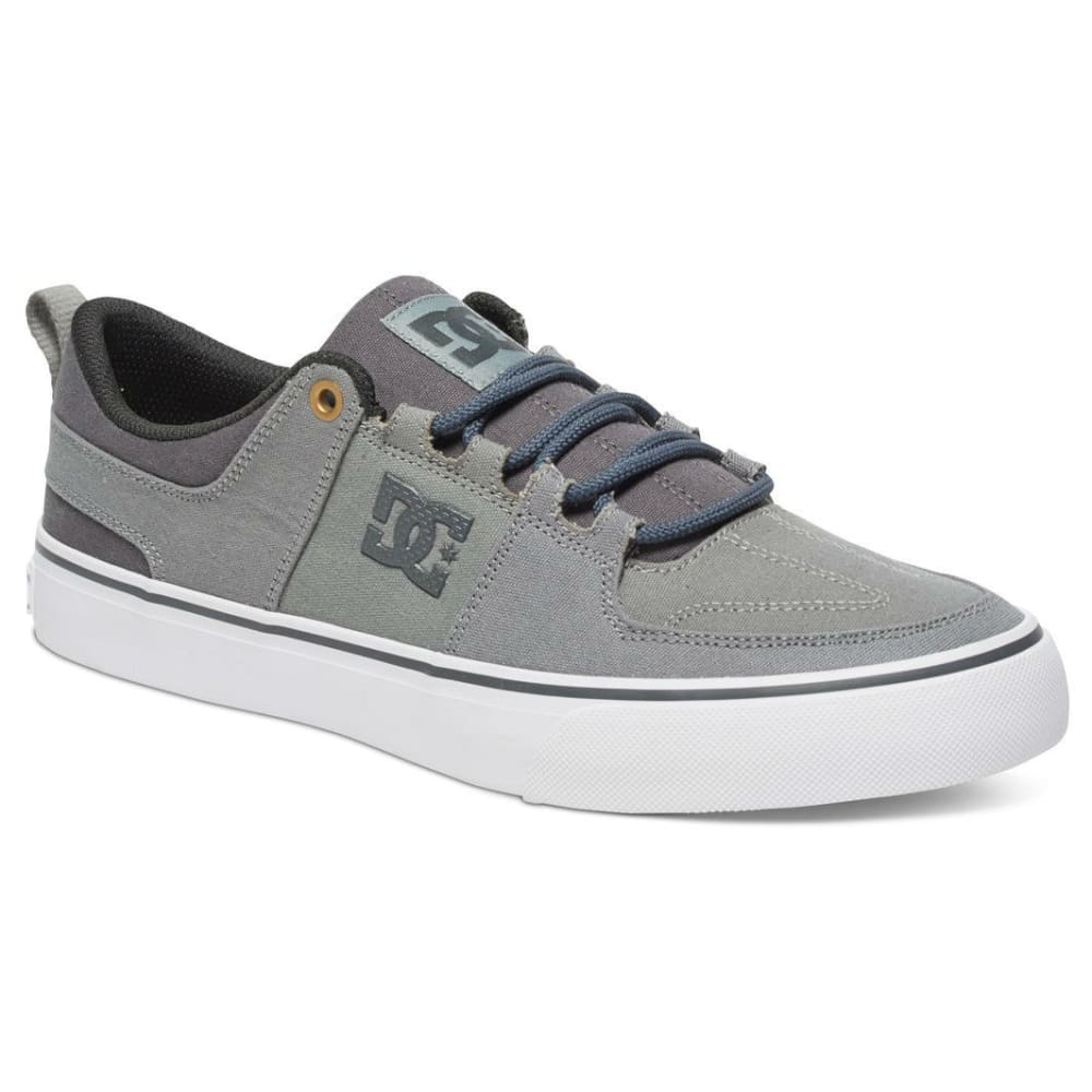 DC SHOES Men's Lynx Vulc TX Low-Top Shoes - GREY