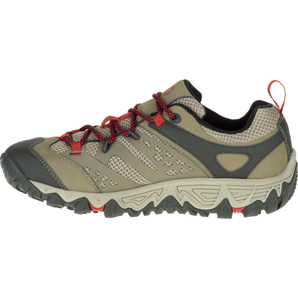 MERRELL Women's All Out Blaze Ventilator Waterproof Hiking Shoes, Brown - BROWN