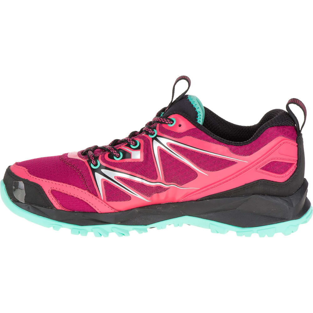 MERRELL Women's Capra Bolt Trail Shoes, Bright Red - BRIGHT RED