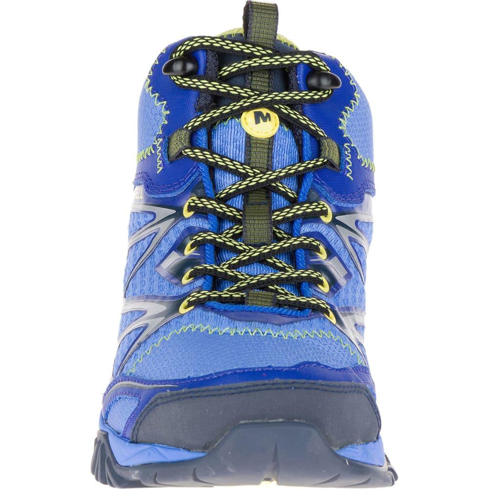MERRELL Women's Capra Bolt Mid Waterproof Boots, Purple - PURPLE