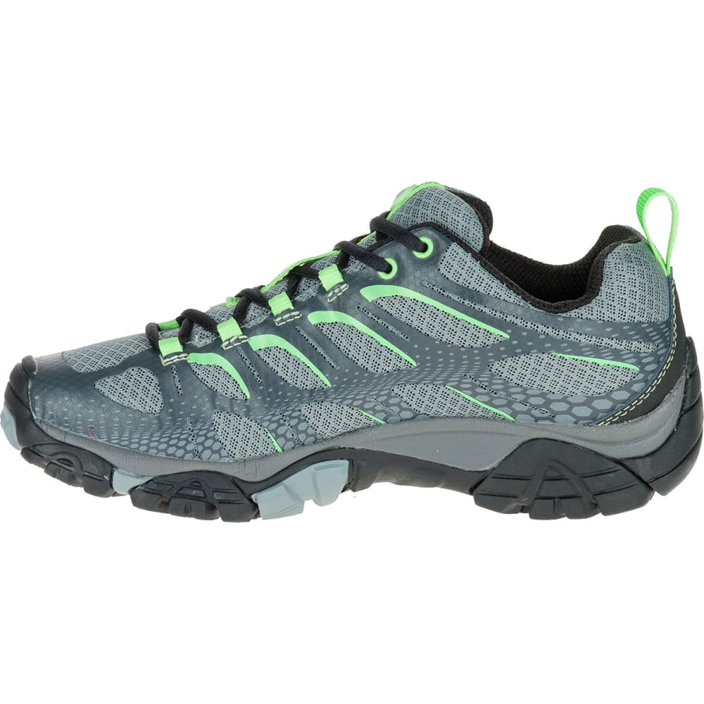 MERRELL Women's Moab Edge Shoes, Grey - GREY
