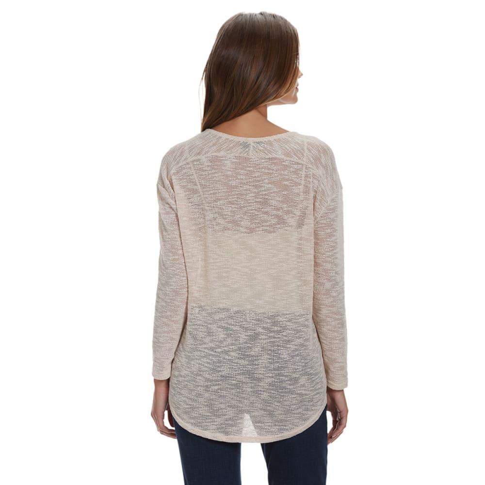 HEPBURN APPAREL Women's Knit Top - TAUPE