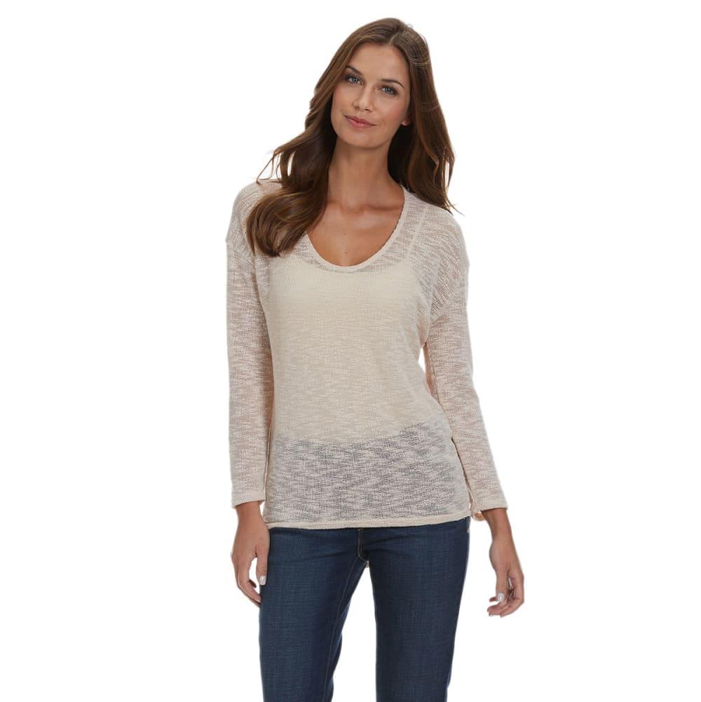 HEPBURN APPAREL Women's Knit Top - TAUPE