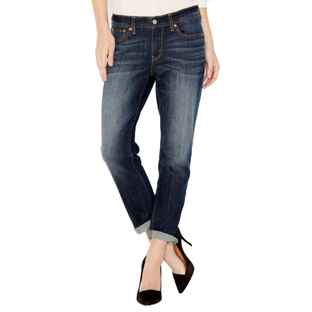 LEVI'S Women's Boyfriend Denim - SHARK BLUE