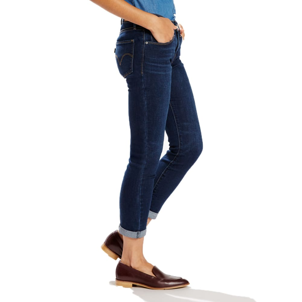 LEVI'S Women's Mid-Rise Skinny Crop Jeans - 0008-SUNSHINE STRAND
