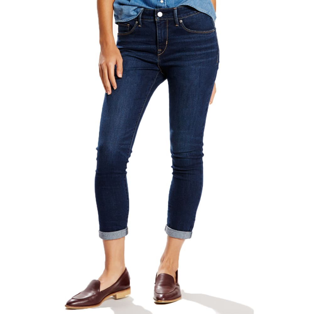 LEVI'S Women's Mid-Rise Skinny Crop Jeans - 0008-SUNSHINE STRAND