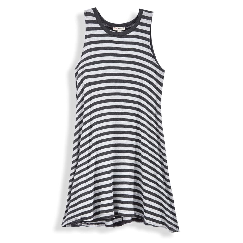 ZENANA Women's Sleeveless Tee Dress - CHARCOAL
