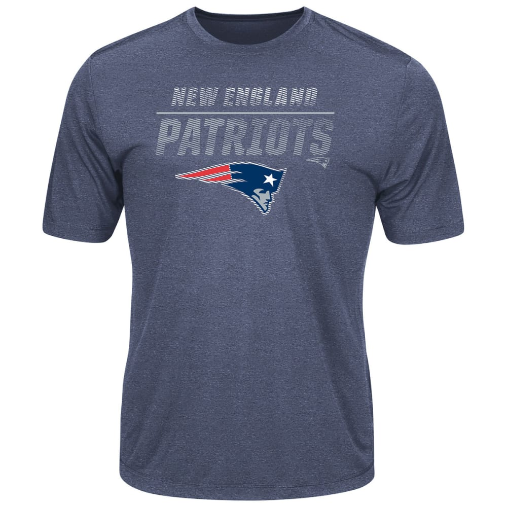 NEW ENGLAND PATRIOTS Men's All The Way Tee - NAVY