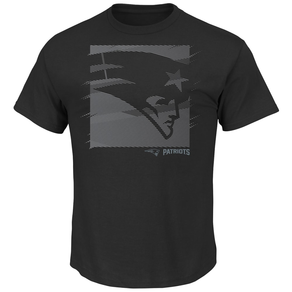 NEW ENGLAND PATRIOTS Men's Right Direction Tee - BLACK