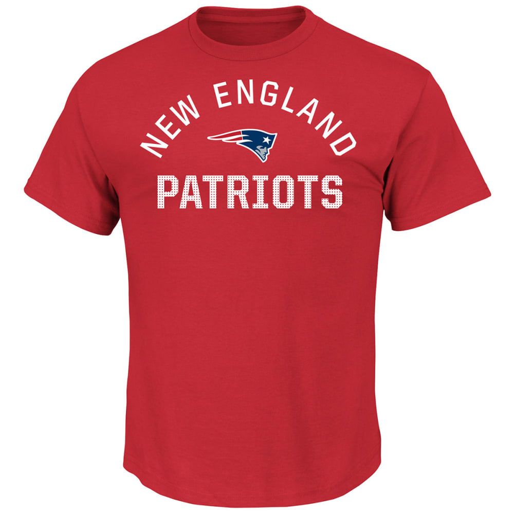 NEW ENGLAND PATRIOTS Men's For All Time Tee - RED