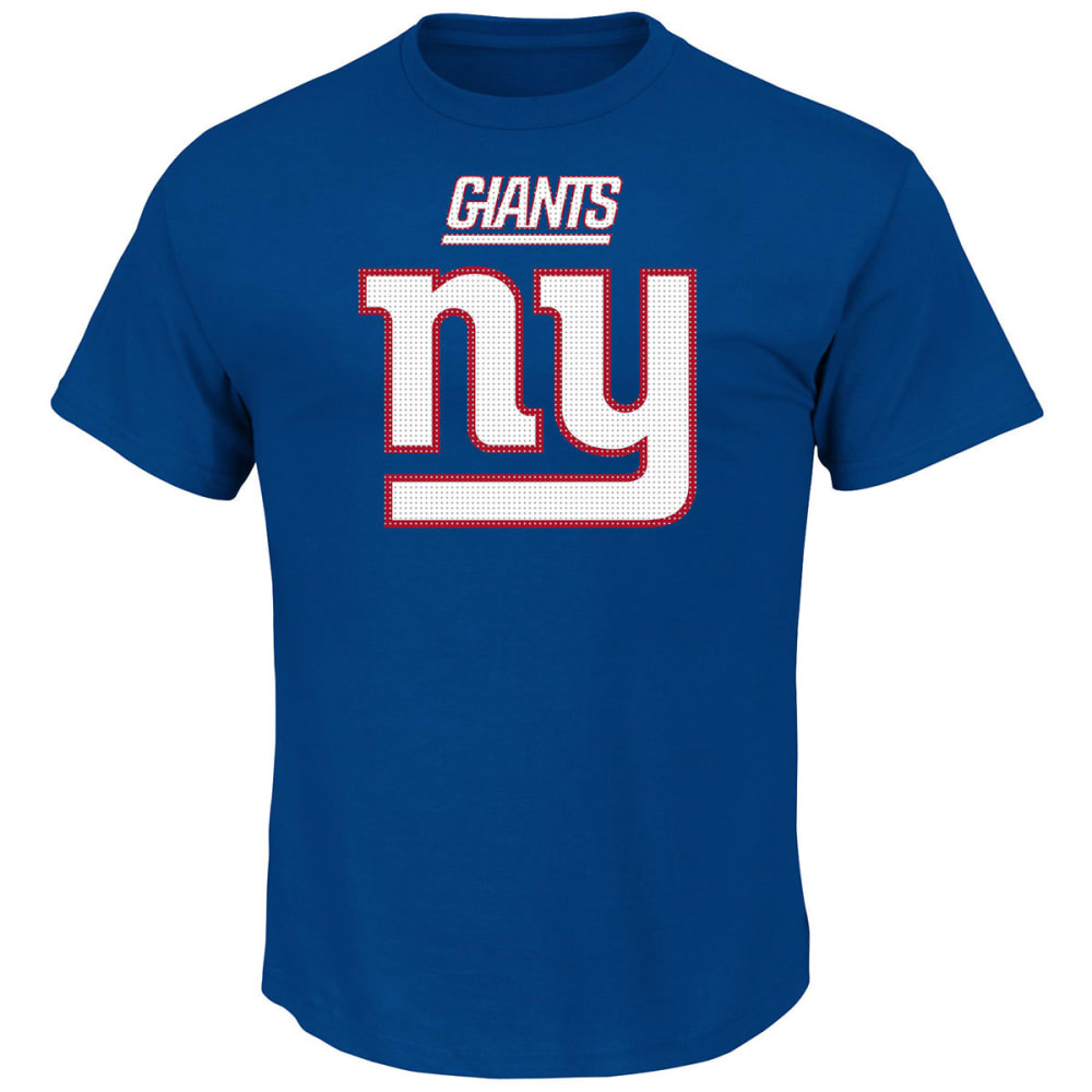 NEW YORK GIANTS Men's Critical Victory II Tee - ROYAL BLUE
