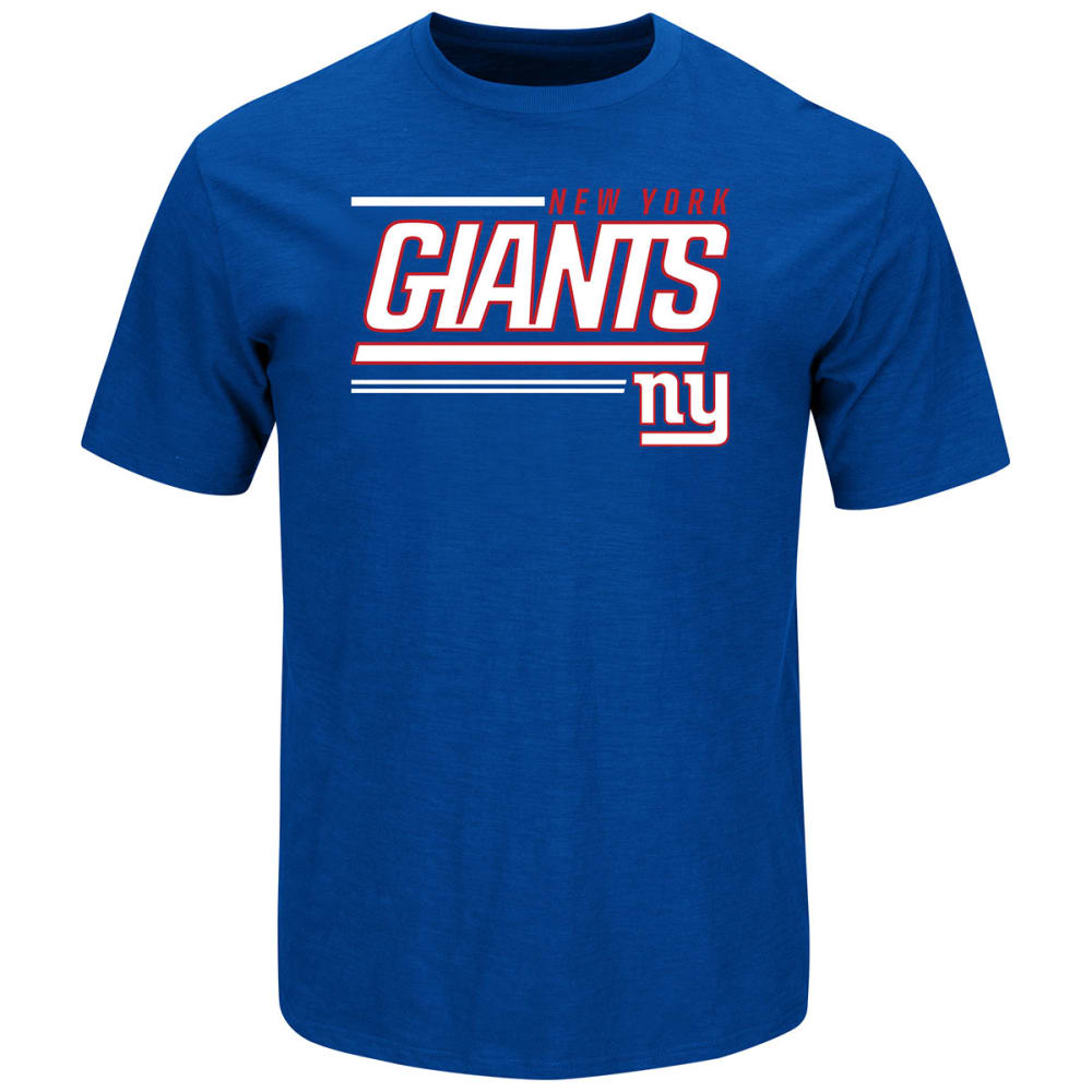 NEW YORK GIANTS Men's Royal Scrimmage Tee - ROYAL BLUE