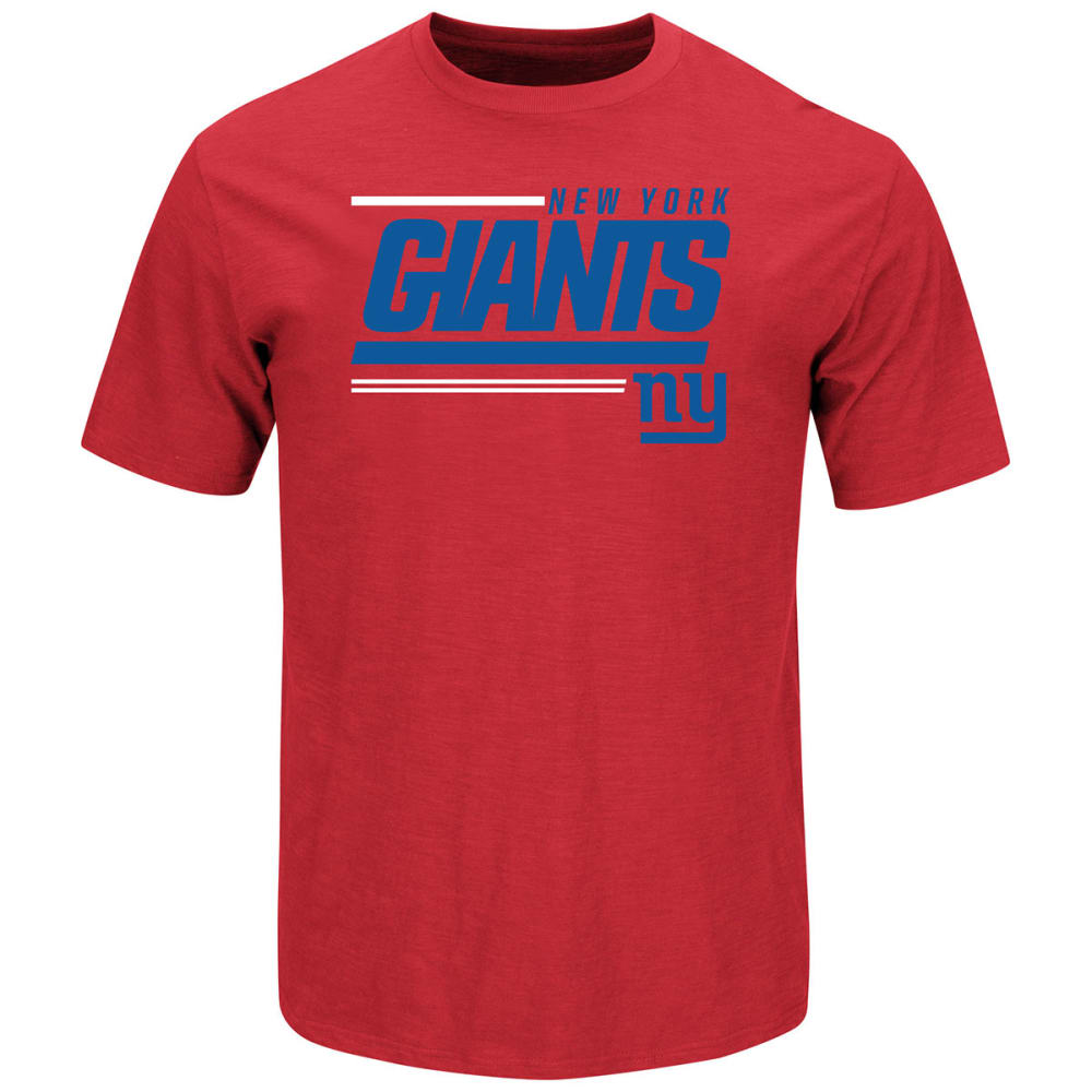 NEW YORK GIANTS Men's Line Of Scrimmage Tee - RED