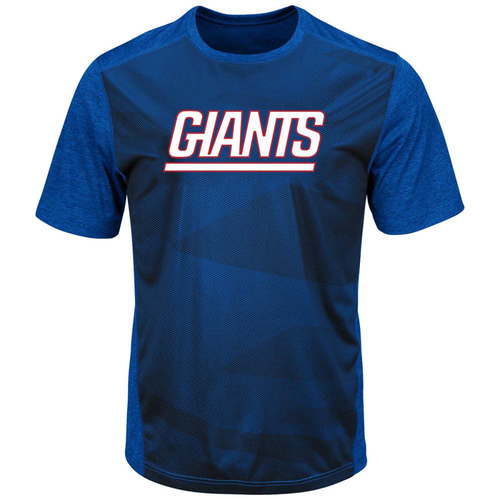 NEW YORK GIANTS Men's Gridiron Synth Tee - ROYAL BLUE