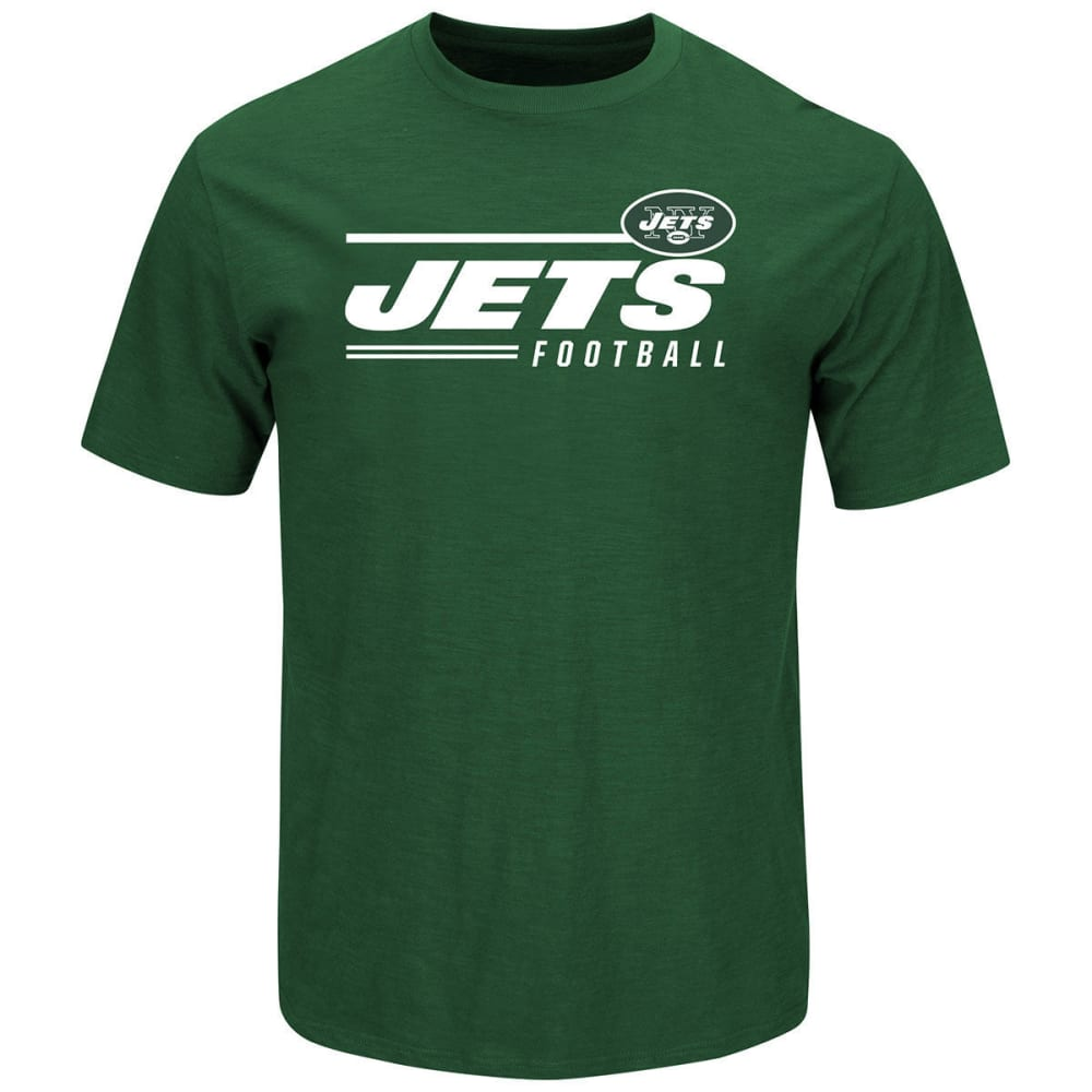 NEW YORK JETS Men's Line of Scrimmage Tee - GREEN