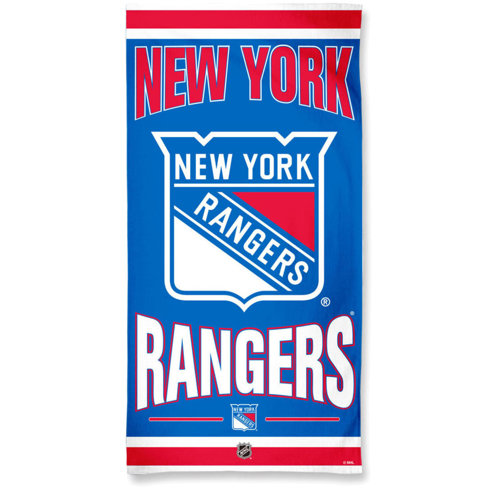 NEW YORK RANGERS Beach Towel - ROYAL BLUE