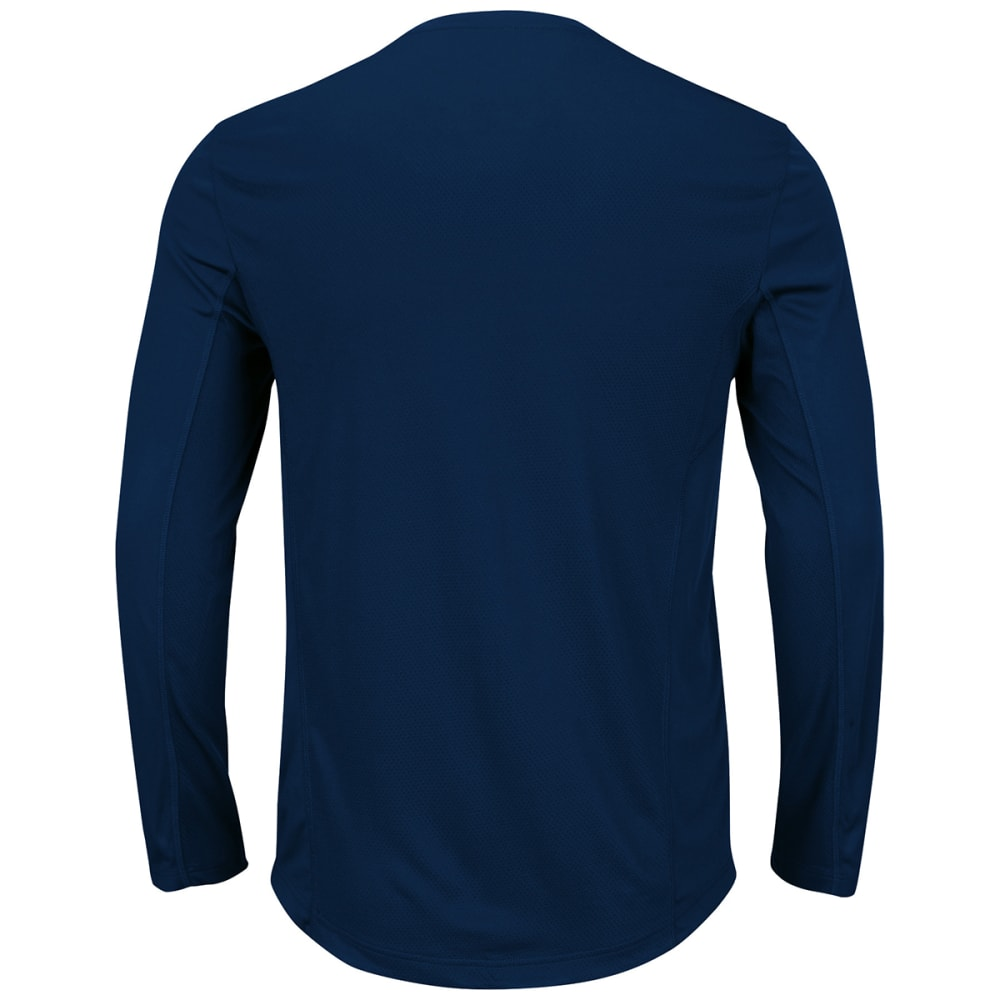 PATRIOTS Men's Fanfare IX Long Sleeve Tee - NAVY