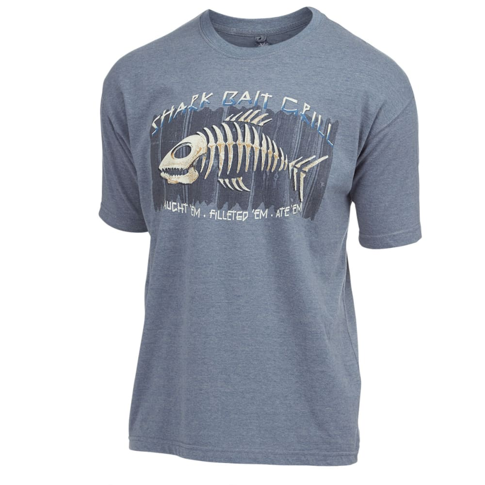 NEWPORT BLUE Men's Shark Bait Screen Tee - HTR MINERAL