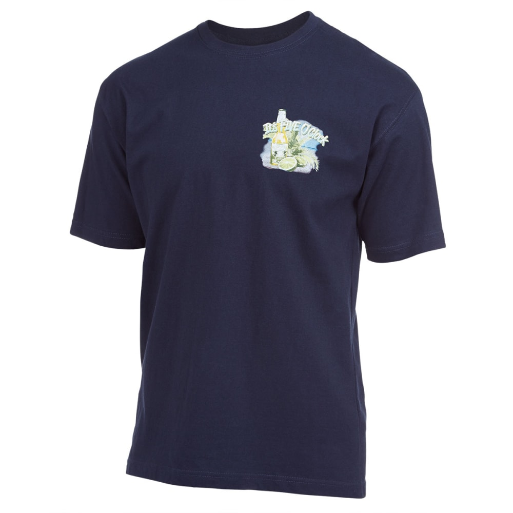 NEWPORT BLUE Men's It's 5 O'Clock Screen Tee - NAVY
