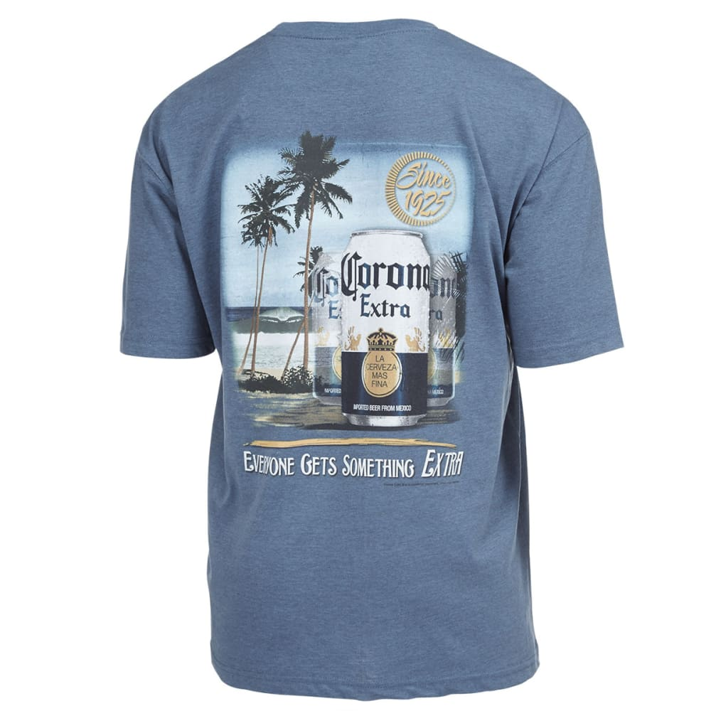 NEWPORT BLUE Men's Corona Something Extra Screen Tee - HTR OCEAN