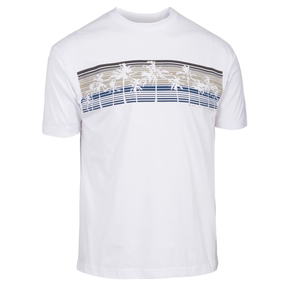 NEWPORT BLUE Men's Made in the Shade Short-Sleeve Screen Tee - WHITE