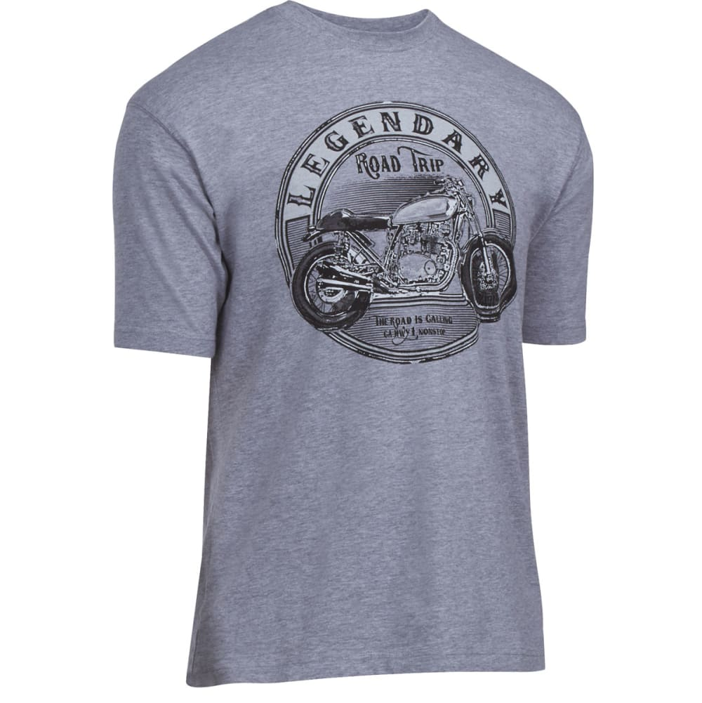 NEWPORT BLUE Men's Legendary Tee - HTR FOG