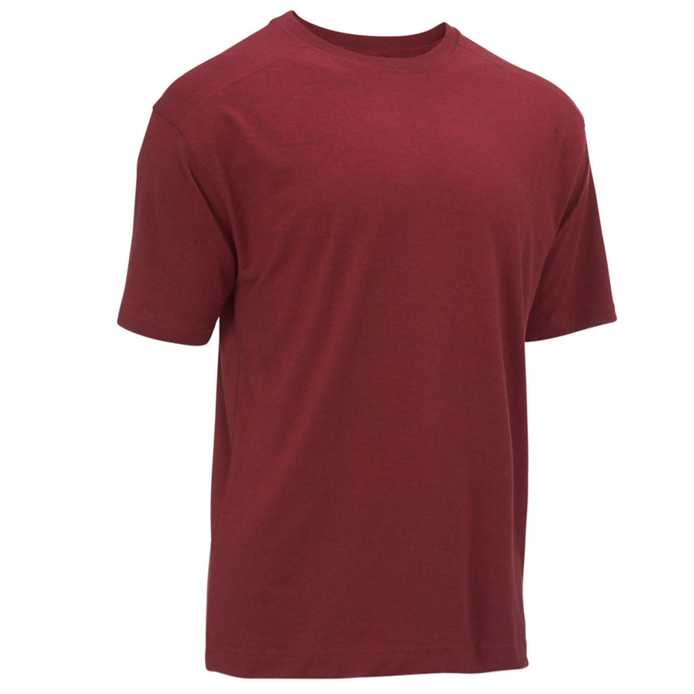NEWPORT BLUE Men's Solid Tee - HTR RED