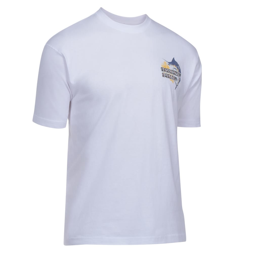 NEWPORT BLUE Men's Island Time Tee - WHITE