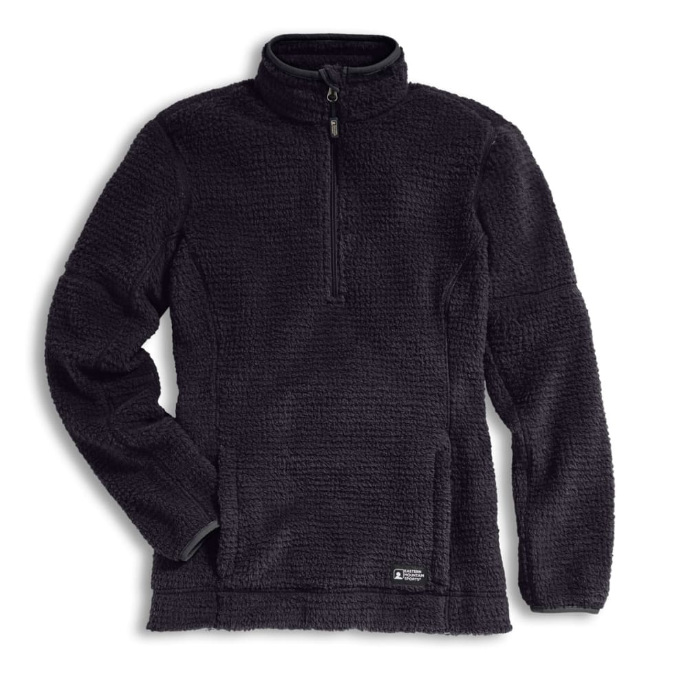 EMS Women's High Peaks 1/4 Zip Pullover - BLACK HEATHER