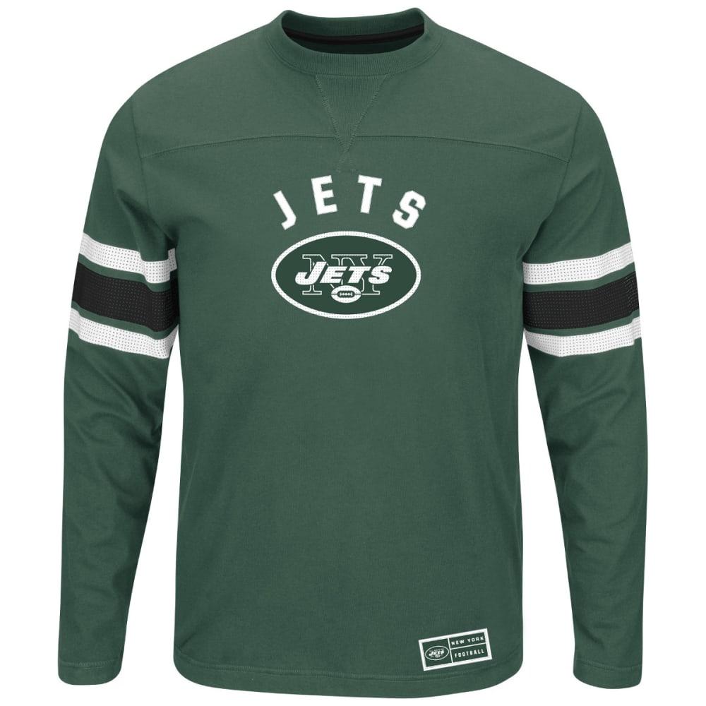 NEW YORK JETS Men's Power Hit Long-Sleeve Tee - GREEN