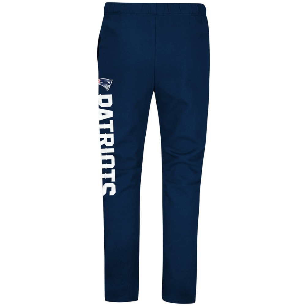 NEW ENGLAND PATRIOTS Men's Just Getting Started Lounge Pants - NAVY