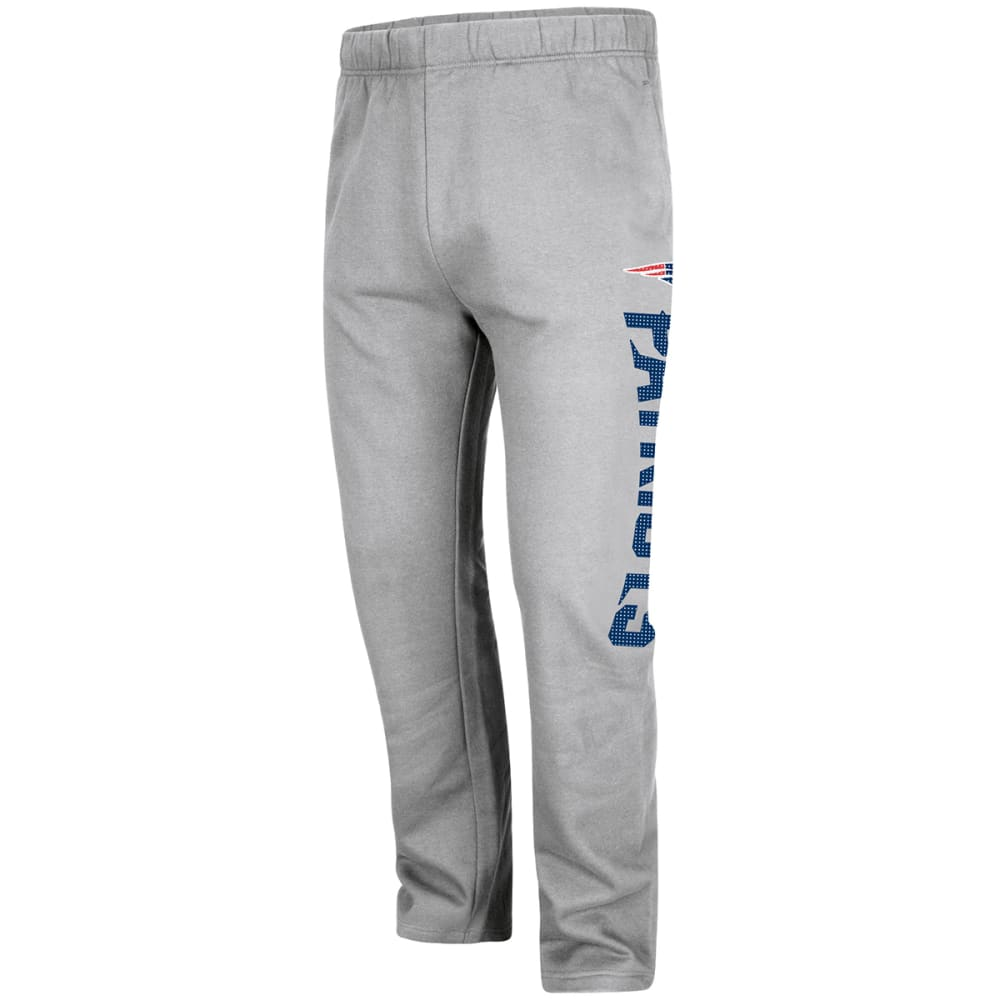 NEW ENGLAND PATRIOTS Men's Just Getting Started Lounge Pants - GREY