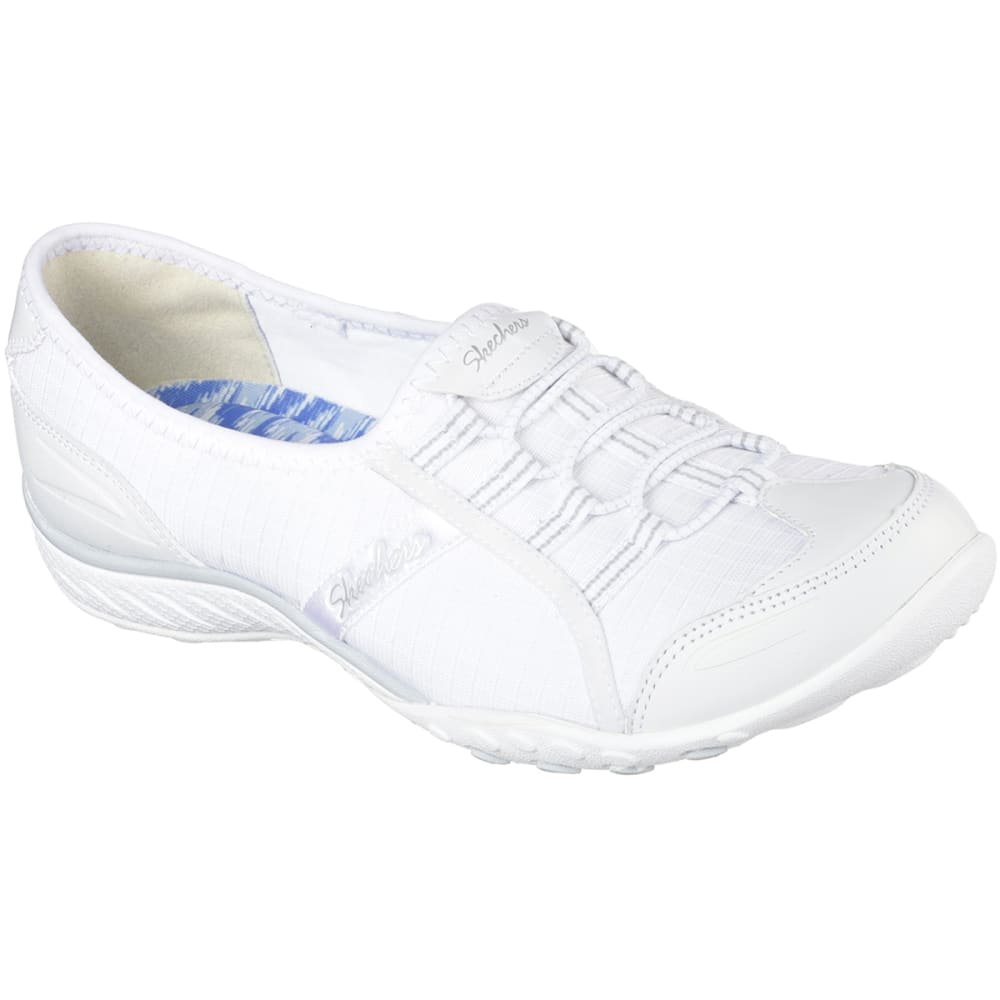 SKECHERS Women's Relaxed Fit: Breathe Easy-Allure Shoes - WHITE