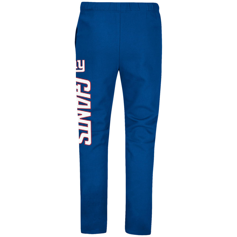 NEW YORK GIANTS Men's Just Getting Started Lounge Pants - ROYAL BLUE