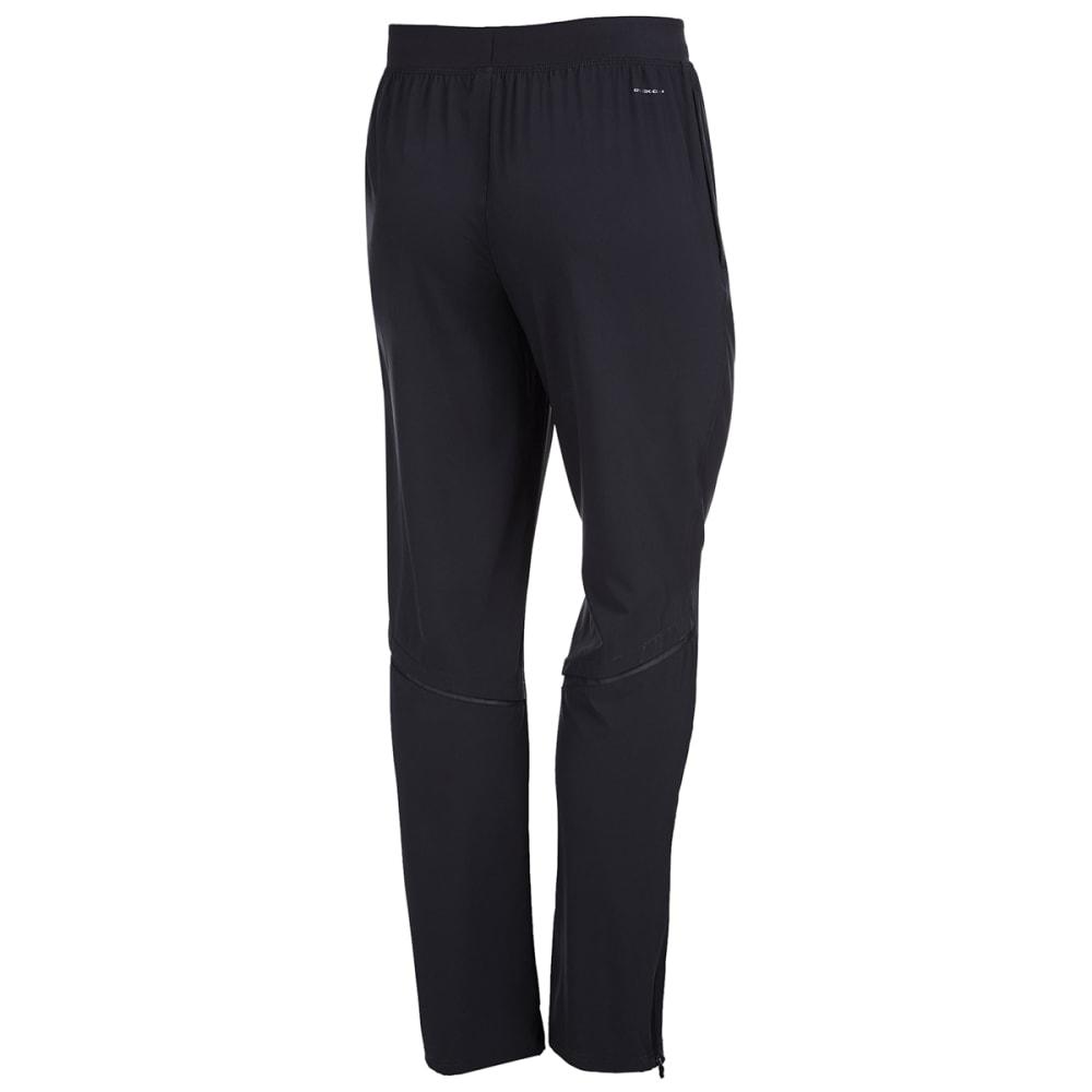 LAYER 8 Men's Stretch Woven Training Pants - RICH BLACK-RCB