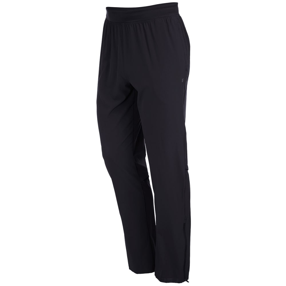 LAYER 8 Men's Stretch Woven Training Pants - RICH BLACK-RCB